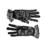 Lace women's gloves