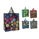 Shopping bag with zipper 44x40x17cm