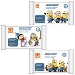 Brevia Wet Wipes with cartoon heroes 15τμχ