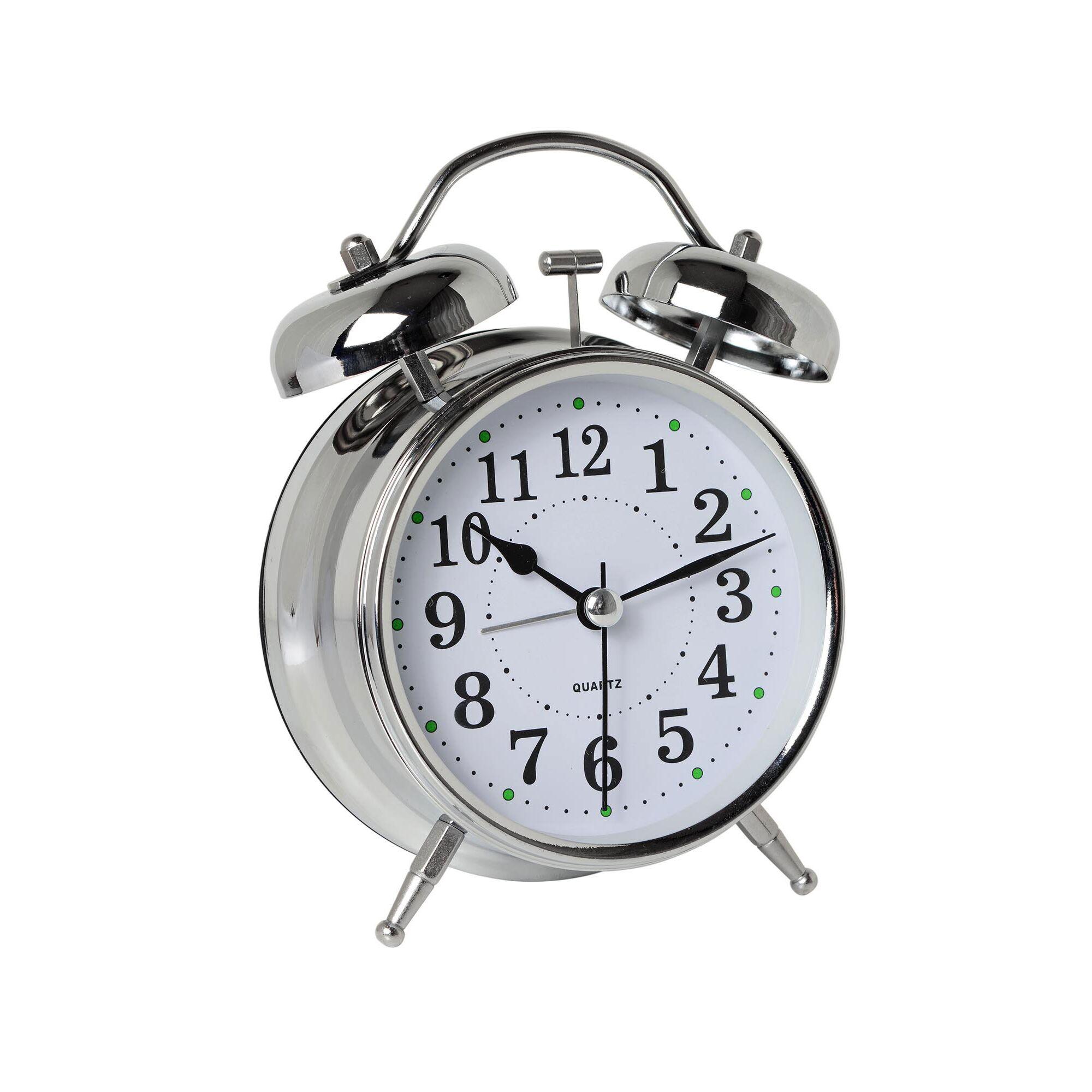 Είδη σπιτιού    Διακόσμηση    Επιτραπέζιο ρολόι ξυπνητήρι twin bell Inox 6e62212011a