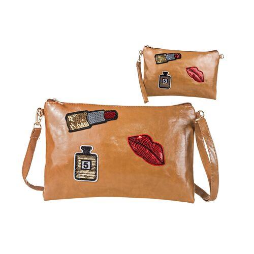 Envelope purse Sequins