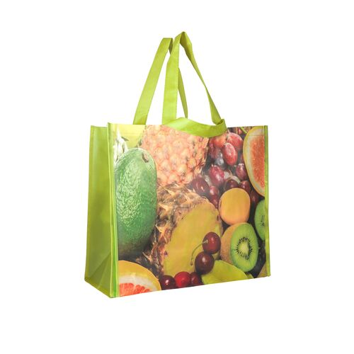 Eco shopping bag with double handles Fruit