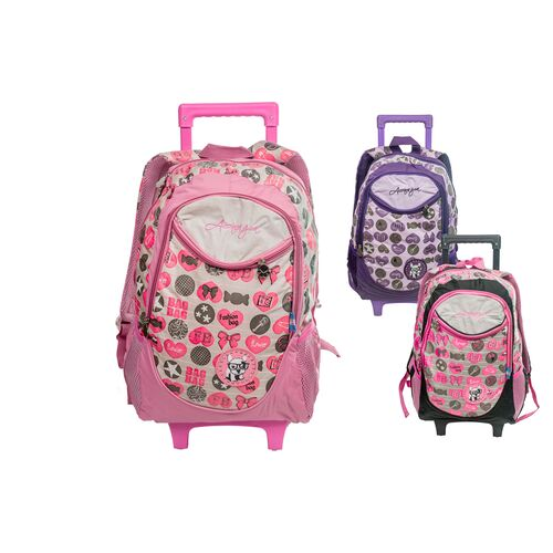 Children's backpack-trolley bag