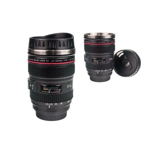 Thermos with lid Camera lens 275ml
