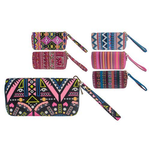 Women's wallet Ethnic Stripes