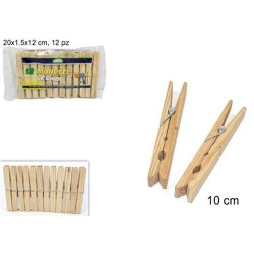 Wooden clothes pin 12 pcs