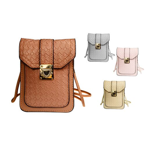 Metallic purse-mobile phone case