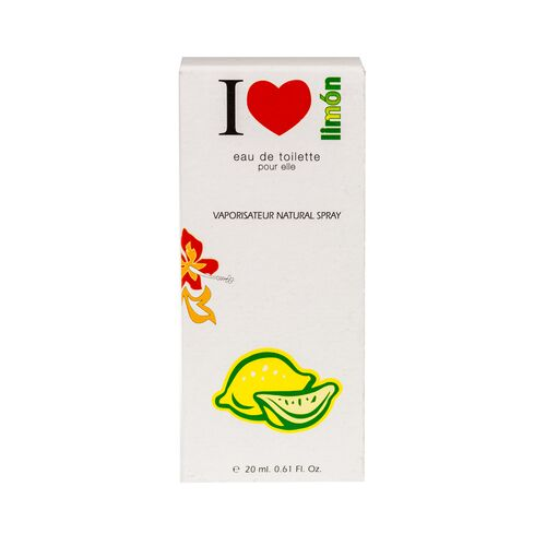 De Naturmais Eau de toilette I LOVE Lemon 20ml