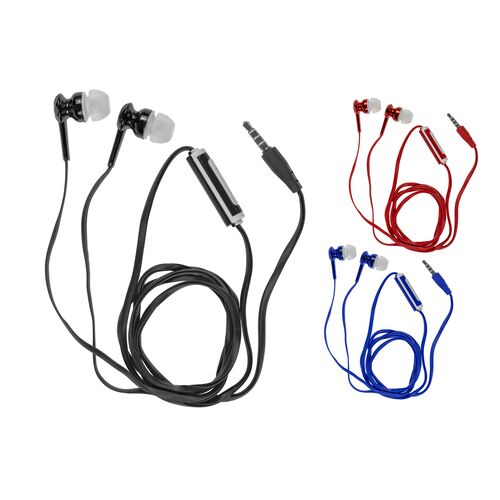 Mobile headphones/handsfree with flat silicone cable