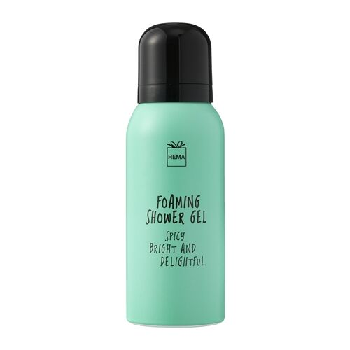 Hema Foaming Shower Gel Spicy bright & Delightful 75ml
