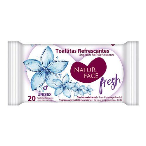 Refreshing pocket wet wipes 20pcs