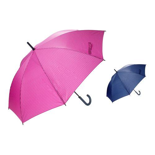 Umbrella 8-rib stick XL Polka dots in 4 different colours