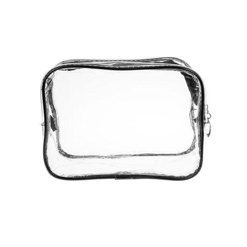 Transparent vanity case 23x17cm