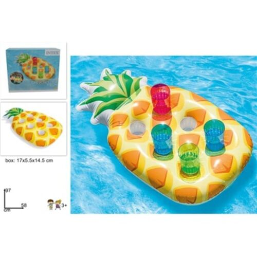 Pineapple Inflatable Tray for glasses 58x97cm